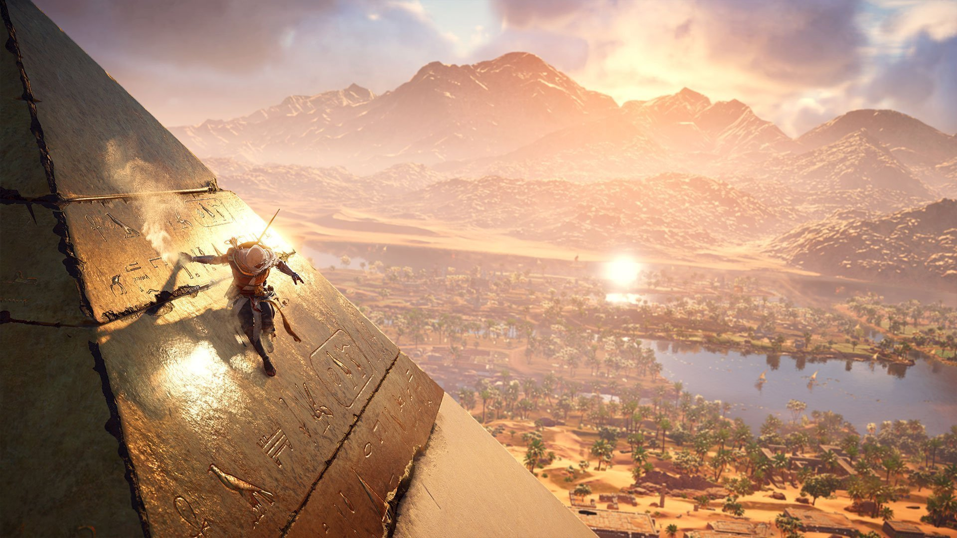 Fotogrametria y realismo en videojuegos assassins creed origins